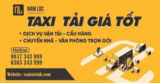 taxi tải chở hàng tại Vinh - Nghệ An