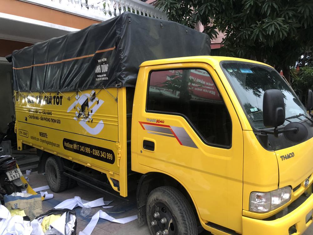 taxi tải chở hàng tại Vinh