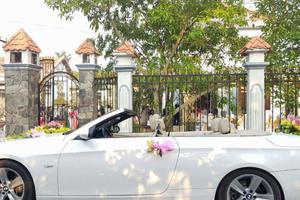 6 lưu ý cần biết khi thuê xe hoa cưới