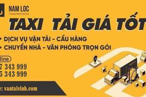 Những điều cần biết khi thuê taxi tải chở hàng tại Nghệ An