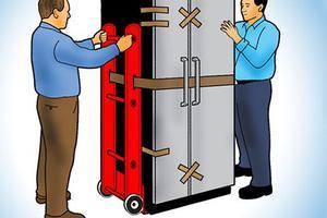 [Kinh nghiệm chuyển nhà] Vận chuyển tủ lạnh nằm ngang có được không?