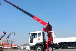 Cho thuê xe cẩu nâng hàng tại Vinh | Vận tải Nam Lộc