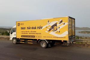 Dịch vụ taxi tải tại thành phố Vinh - Nghệ An