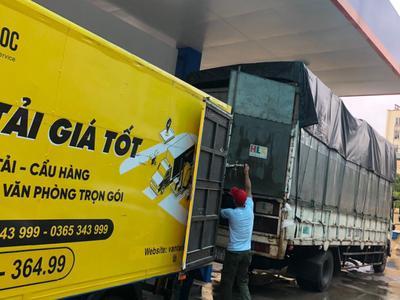 Thuê xe tải chở hàng giá rẻ tại Vinh và những lưu ý...