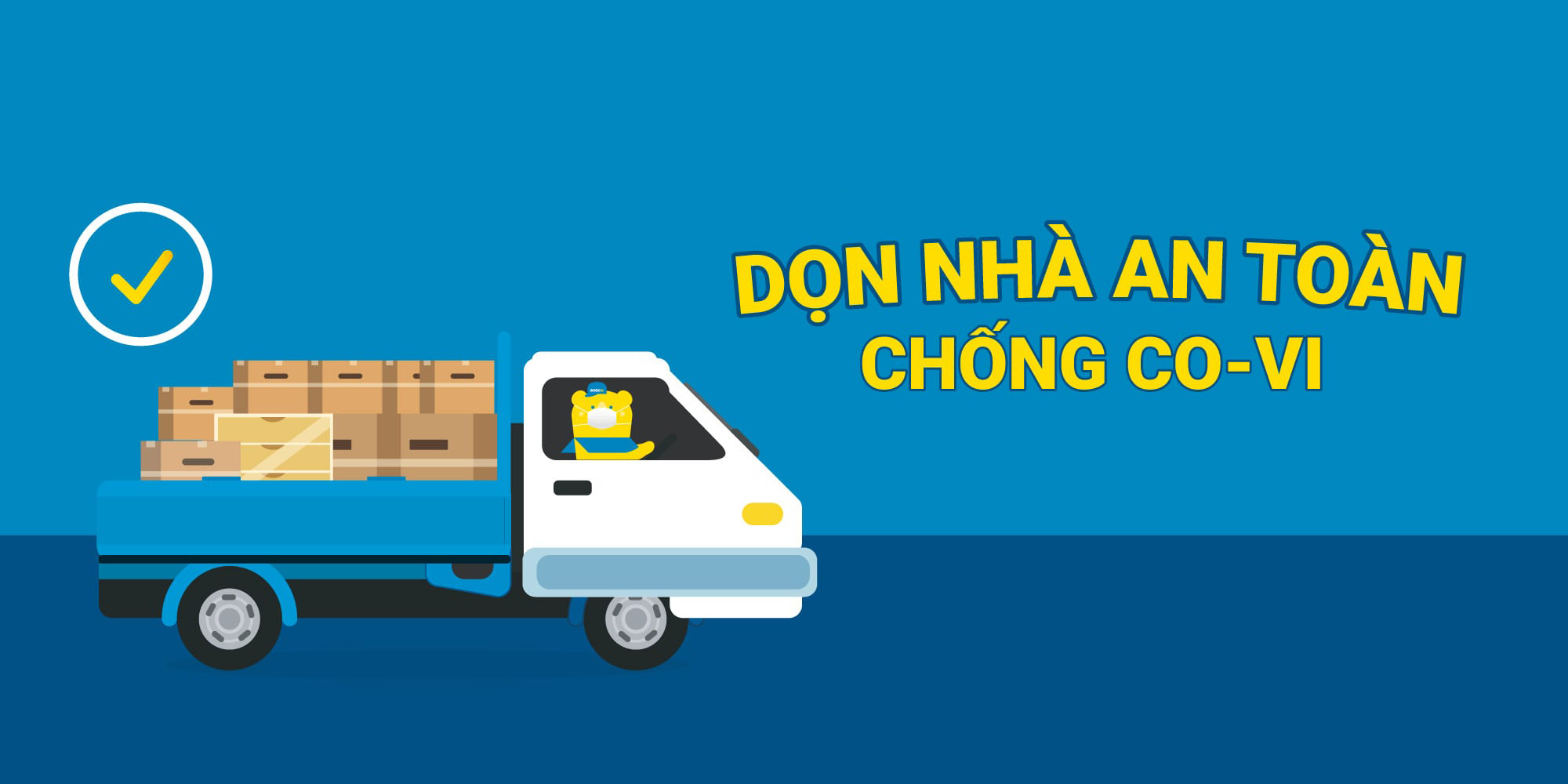 Dịch vụ chuyển nhà trọn gói tại Vinh luôn đảm bảo an toàn mùa dịch | Vận tải Nam Lộc